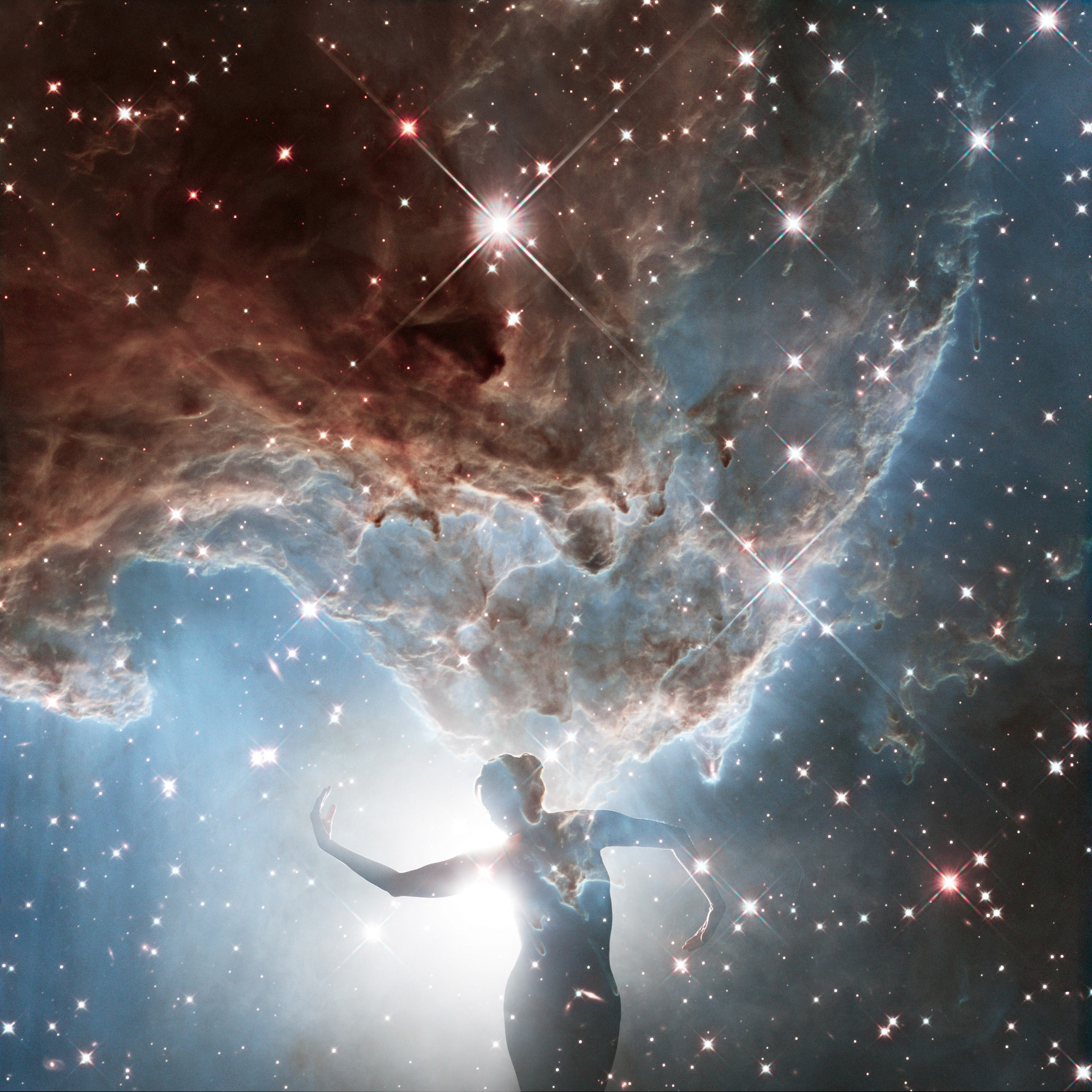 New Hubble image of NGC 2174